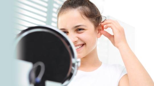Ear auricles shape correction